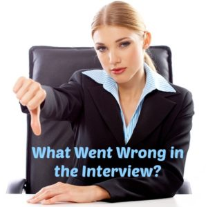 What went wrong in the Interview?